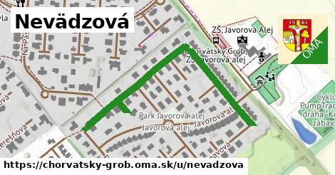 ilustrácia k Nevädzová, Chorvátsky Grob - 522m