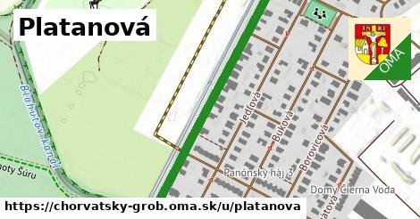 ilustrácia k Platanová, Chorvátsky Grob - 454m