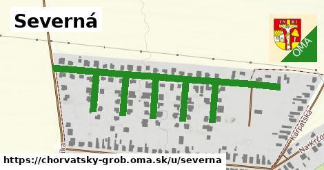 ilustrácia k Severná, Chorvátsky Grob - 523m