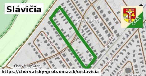ilustrácia k Slávičia, Chorvátsky Grob - 0,78km