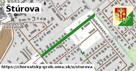 ilustrácia k Štúrova, Chorvátsky Grob - 186m