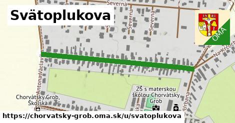 ilustrácia k Svätoplukova, Chorvátsky Grob - 486m