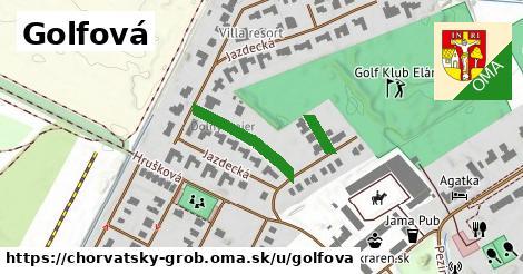 ilustrácia k Golfová, Chorvátsky Grob - 239m