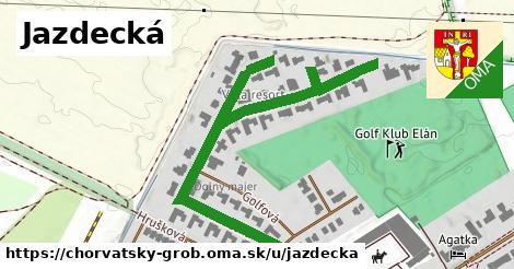 ilustrácia k Jazdecká, Chorvátsky Grob - 0,71km