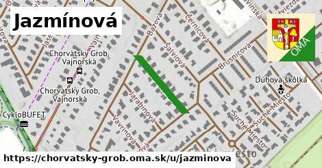 ilustrácia k Jazmínová, Chorvátsky Grob - 174m
