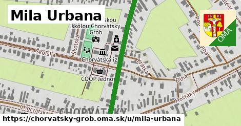 ilustrácia k Mila Urbana, Chorvátsky Grob - 410m