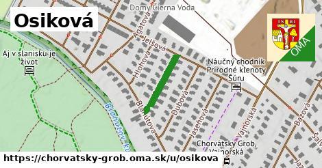ilustrácia k Osiková, Chorvátsky Grob - 152m