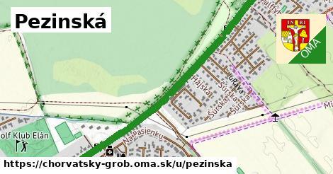 ilustrácia k Pezinská, Chorvátsky Grob - 2,1km