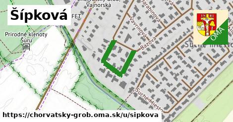 ilustrácia k Šípková, Chorvátsky Grob - 234m