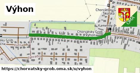 ilustrácia k Výhon, Chorvátsky Grob - 457m
