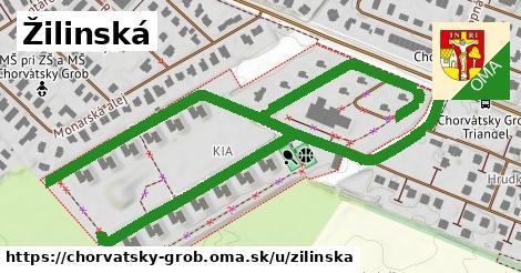 ilustrácia k Žilinská, Chorvátsky Grob - 1,42km