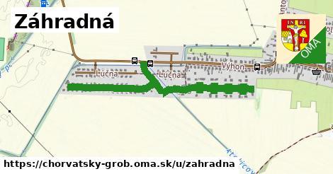 ilustračný obrázok k Záhradná, Chorvátsky Grob