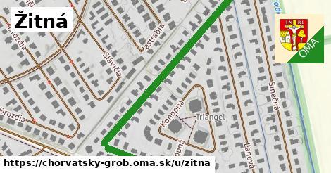 ilustrácia k Žitná, Chorvátsky Grob - 667m