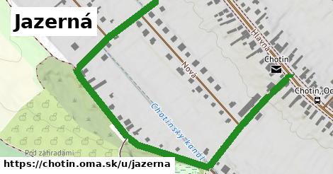 ilustrácia k Jazerná, Chotín - 1,03km