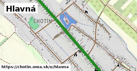 ilustrácia k Hlavná, Chotín - 2,1km