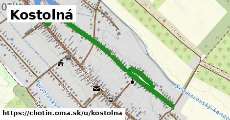 ilustrácia k Kostolná, Chotín - 1,34km