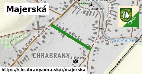 ilustrácia k Majerská, Chrabrany - 247m