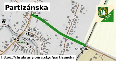 ilustrácia k Partizánska, Chrabrany - 402m
