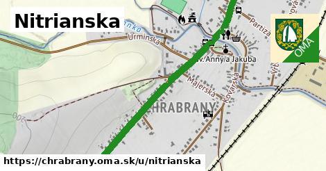ilustrácia k Nitrianska, Chrabrany - 1,53km