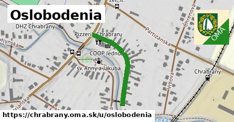 ilustrácia k Oslobodenia, Chrabrany - 269m