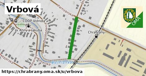ilustrácia k Vrbová, Chrabrany - 218m