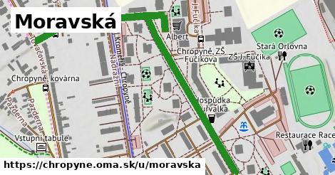 ilustrácia k Moravská, Chropyně - 0,91km