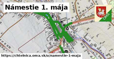 ilustrácia k Námestie 1. mája, Chtelnica - 0,80km