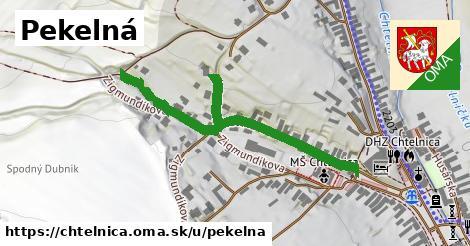 ilustrácia k Pekelná, Chtelnica - 263m