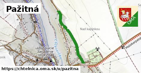 ilustrácia k Pažitná, Chtelnica - 502m