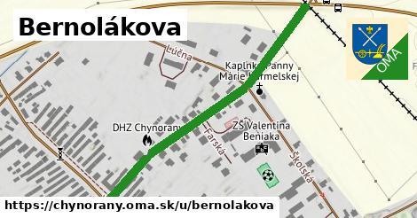 ilustrácia k Bernolákova, Chynorany - 510m