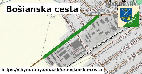 ilustrácia k Bošianska cesta, Chynorany - 0,99km