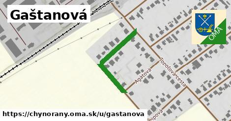 ilustrácia k Gaštanová, Chynorany - 157m