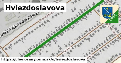 ilustrácia k Hviezdoslavova, Chynorany - 682m