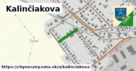 ilustrácia k Kalinčiakova, Chynorany - 125m