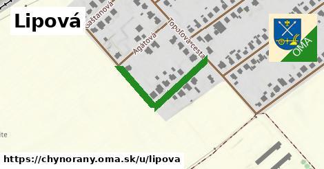 ilustrácia k Lipová, Chynorany - 164m