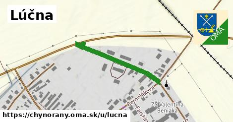 ilustrácia k Lúčna, Chynorany - 309m