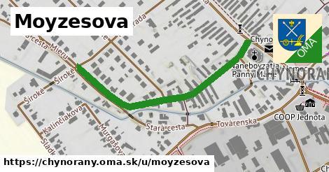 ilustrácia k Moyzesova, Chynorany - 473m