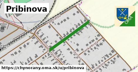 ilustrácia k Pribinova, Chynorany - 263m