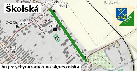ilustračný obrázok k Školská, Chynorany