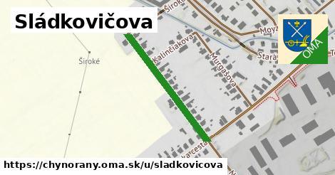ilustrácia k Sládkovičova, Chynorany - 296m