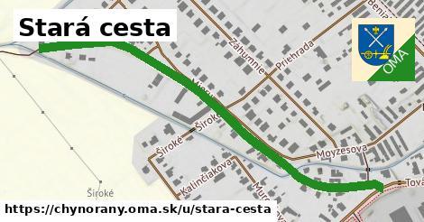 ilustrácia k Stará cesta, Chynorany - 330m