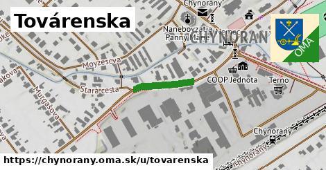 ilustrácia k Továrenská, Chynorany - 140m