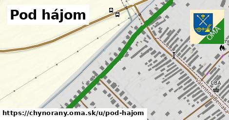 ilustrácia k Pod hájom, Chynorany - 554m
