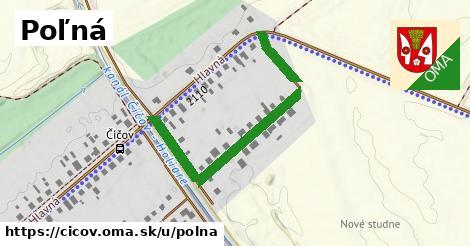 ilustrácia k Poľná, Číčov - 442m