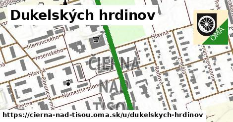 ilustrácia k Dukelských hrdinov, Čierna nad Tisou - 435m