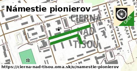 ilustrácia k Námestie pionierov, Čierna nad Tisou - 238m