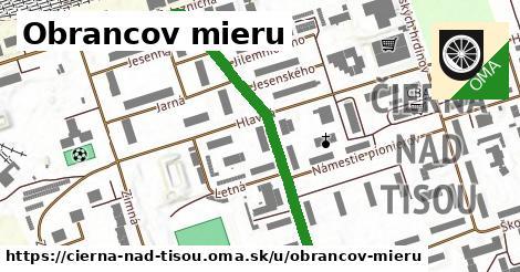 ilustrácia k Obrancov mieru, Čierna nad Tisou - 458m
