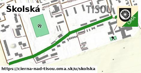 ilustrácia k Školská, Čierna nad Tisou - 0,73km