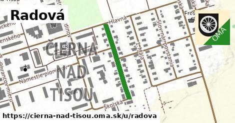 ilustrácia k Radová, Čierna nad Tisou - 250m