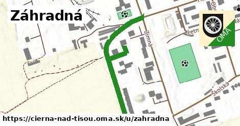 ilustrácia k Záhradná, Čierna nad Tisou - 507m